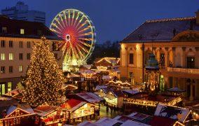 Magdeburg Weihnachtsmarkt - Magdeburg christmas market 01