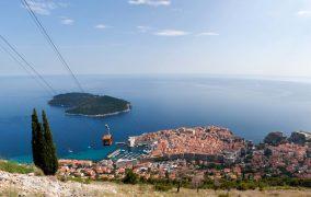 Dubrovniko panorama