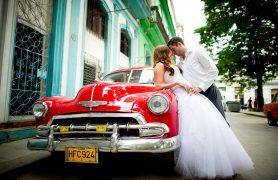 Vestuves Havanoje