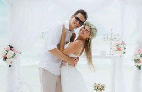 vestuves Dominikoje