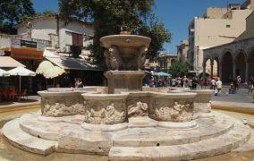 Morozini fontanas Heraklionas